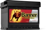 BANNER 12V 62Ah 540A P6219 Power Bull autobaterie