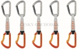 PETZL Spirit Express 12cm set 5ks expresek
