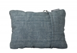 THERM-A-REST COMPRESS PILLOW M Blue Woven Dot Print polštářek šedo/modrý se vzorem