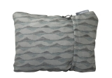 THERM-A-REST COMPRESS PILLOW M Gray Mountains Print polštářek šedý se vzorem