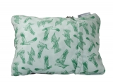 THERM-A-REST COMPRESS PILLOW L Eagle Print polštářek se zeleným orlem