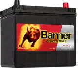 Banner Power Bull 12V 60Ah 480A, P6068 autobaterie