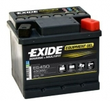 EXIDE EQUIPMENT GEL 12V 40Ah ES450 trakční baterie