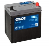 EXIDE Excell 12V 35Ah 240A EB356 autobaterie