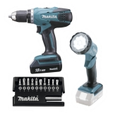 MAKITA DF457DWLX1 Aku vrtačka 18V Li-on