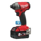 Milwaukee M18 ONEID-502X ONE-KEY Aku rázový utahovák 18V / 5,0Ah