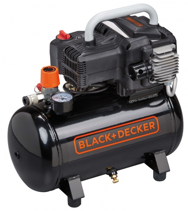 Black & Decker BD 195/12-NK bezolejový kompresor 10bar