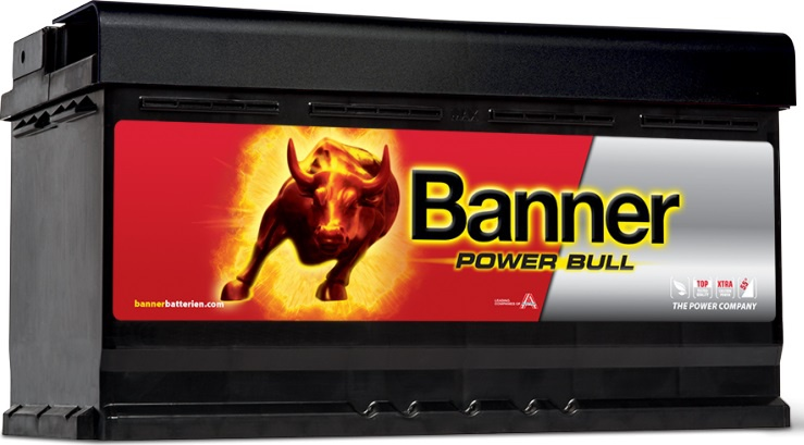 BANNER 12V 95Ah 720A P9533 Power Bull autobaterie