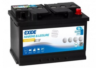 EXIDE EQUIPMENT GEL 12V 56Ah ES650 trakční baterie